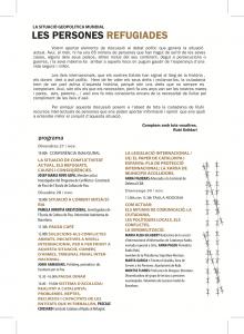 Programa XIVè Curs de Cooperació i Solidaritat Internacional